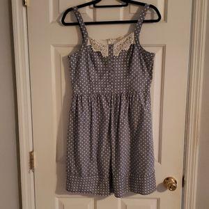 Polls dot mini dress